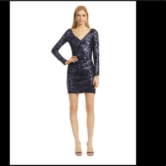 Badgley Mischka Dresses Rent The Runway Sultry Shimmery Dress